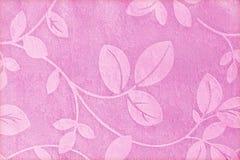 Tkaniny tło, makaty tkaniny wzór z liścia ornamentem Zdjęcie Royalty Free