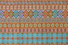 tkaniny tajlandzki deseniowy Obrazy Royalty Free