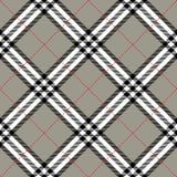 Tkaniny tekstura w kwadratowym deseniowym bezszwowym diagon Obrazy Royalty Free