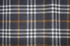 Tkaniny tekstura z czarnymi kwadratami Zdjęcie Stock