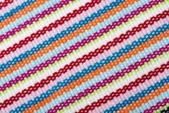 Tkaniny tekstury tło Zdjęcie Stock