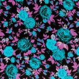 Tkaniny tkaniny wzór z kwiecistym ornamentem dla tła Zdjęcia Stock