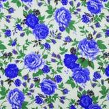 Tkaniny tkaniny wzór z kwiecistym ornamentem dla tła Fotografia Royalty Free