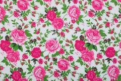 Tkaniny tkaniny wzór z kwiecistym ornamentem dla tła Zdjęcie Stock