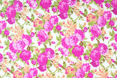 Tkaniny tkaniny wzór z kwiecistym ornamentem dla tła Obrazy Stock