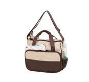 Tkaniny torba dla mamy utrzymywać dzieci akcesoria Fotografia Royalty Free