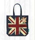 Tkaniny torebka odizolowywająca Zdjęcia Royalty Free