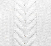Tkaniny trykotowa tekstura Zdjęcia Royalty Free