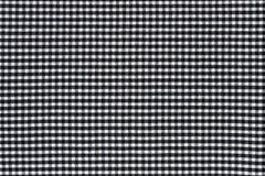 Tkaniny w kratkę deseniowy tło Zdjęcia Stock