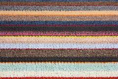 Tkaniny warstwa barwi teksturę Fotografia Stock