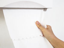 Tkanka papierowy ręcznik zdjęcie stock