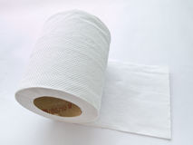 Tkankowy papier rolka fotografia stock