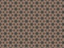 Tkany dywanu wzoru sześciokąta kształt i mali trójboki zdjęcia stock