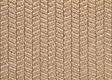 Tkany sizalu & wełny dywanika tło Zdjęcia Stock