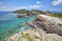 Tkashiki海岛 免版税图库摄影
