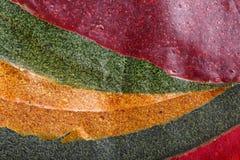 Tklapi - ξηρός πολτοποίηση πολτός φρούτων/ζωηρόχρωμο δέρμα φρούτων στοκ εικόνα με δικαίωμα ελεύθερης χρήσης