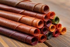Tklapi, высушенные кислые сливы используемые в грузинский и армянский варить Стоковые Фото