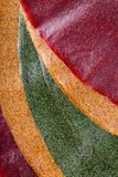 Tklapi - dried mashed fruit pulp / Colorful fruit leather royalty free stock photos