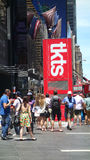 TKTS Booth Royalty Free Stock Image