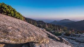 TL美国加州红杉甲虫岩石日落退色 影视素材