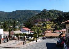 Tlalpujahua Michoacan Мексика Стоковое фото RF