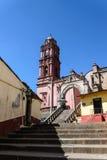 Tlalpujahua Michoacan church Stock Images