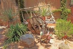 Tlaquepaque Arts & Crafts Village. In Sedona Arizona stock images