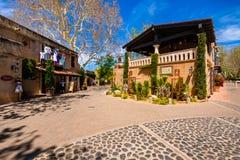 Tlaquepaque-Dorf Sedona Stockfoto