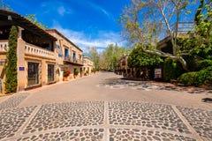 Tlaquepaque-Dorf Sedona Stockbild