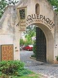 Tlaquepaque-Eingangsportal Stockfoto