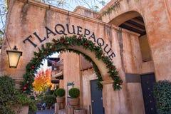 Tlaquepaque en Sedona, Arizona imagen de archivo libre de regalías