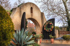 Tlaquepaque gates Stock Photo