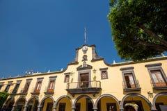 Tlaquepaque, México Edificio del gobierno local Imágenes de archivo libres de regalías