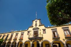 Tlaquepaque, Messico Costruzione di ente locale Immagini Stock Libere da Diritti