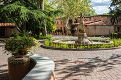 Tlaquepaque in Sedona, Arizona Stockbild