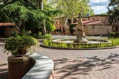 Tlaquepaque in Sedona, Arizona. Inviting Tlaquepaque courtyard, Sedona, Arizona Stock Image