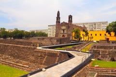 Tlatelolco dropp Arkivbild