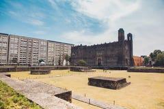 Tlatelolco, Mexico-City royalty-vrije stock afbeeldingen