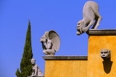 Tlaxcala gargoyles I Stock Image