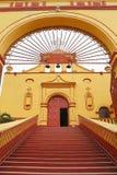 Tlaxco church III Stock Image