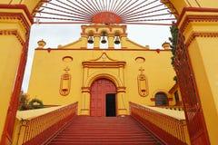 Tlaxco church IV Stock Photos