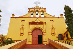 Tlaxco church V Stock Images
