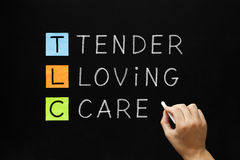 TLC - Tender Loving Care Royalty Free Stock Image