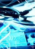 Télécommunications médicales Images libres de droits