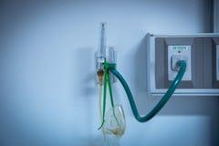 Tlen drymba w szpitalu obrazy stock