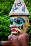 Tlingit Totem Figure Stock Photography