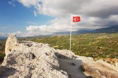 Tlos,土耳其 库存图片