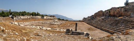 Tlos Ancient City Royalty Free Stock Photography