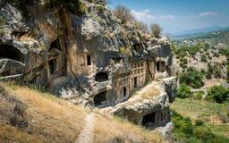 Tlos ancient town ruins Royalty Free Stock Photo