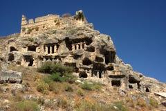 Tlos ruins (necropolis) Stock Image
